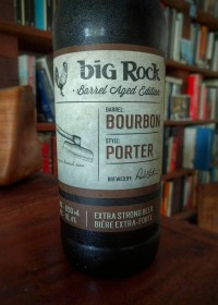 Big Rock Porter Bourbon Barrel Aged by Rick Green
