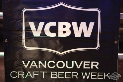 Vancouver Craft Beer Week 2014 opening logo